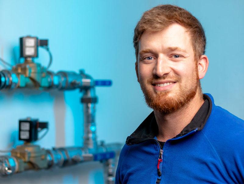 Martin Schlagbauer - Fachkraft für Wasserversorgungstechnik - WZV Altmannsteiner Gruppe